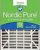 Nordic Pure 20x25x5 (4-7/8 Actual Depth) MERV 13