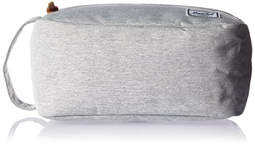 Herschel Supply Co. Chapter Travel Kit, Light Grey Crosshatch