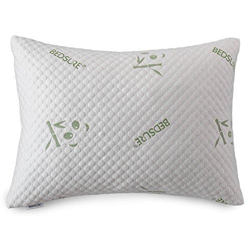 Bedsure Shredded Memory Foam Pillow Bamboo Queen Size Only $16.21