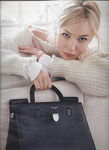 --PRINT AD-- With Jennifer Lawrence For 2015 Dior Handbags 2 PG PRINT AD