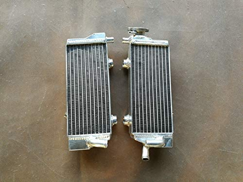 aluminum radiator compatible with KTM 125//150//200//250//300 SX//XC//XC-W 2013 2014 13 14 with stopper side