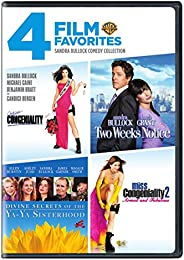 4 Film Favorites: Sandra Bullock (Divine Secrets of the Ya-Ya Sisterhood, Miss Congeniality 2, Miss Congeniali