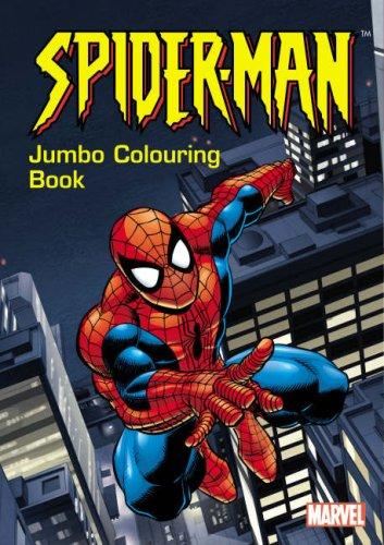 spider man jumbo colouring book amazoncouk 9781842395257 books - Jumbo Coloring Book