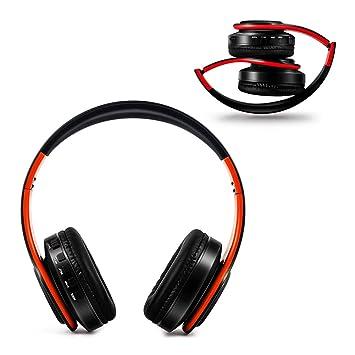 JANEFLY Auriculares Inalámbricos Bluetooth Plegables ...