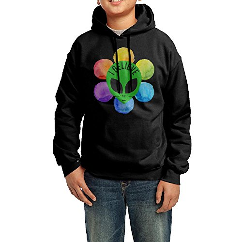 I Believe In Aliens Boys' Hoodies Pullover Hooded Sweatshirts ()