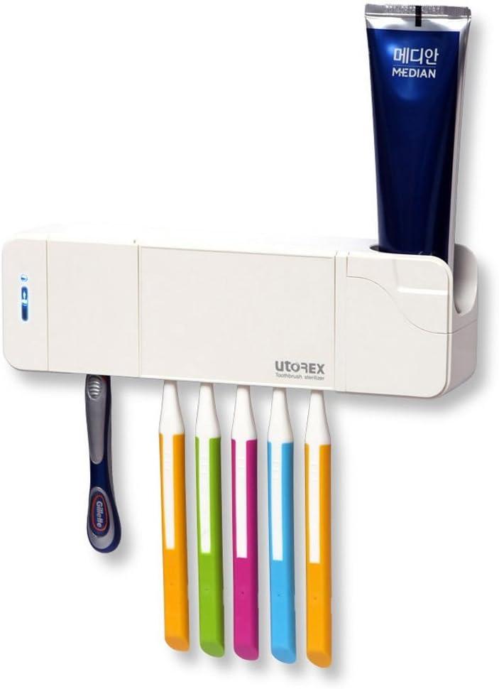 Utorex UV Toothbrush Sanitizer Case Travel Toothbrush Sanitizer Sky Blue