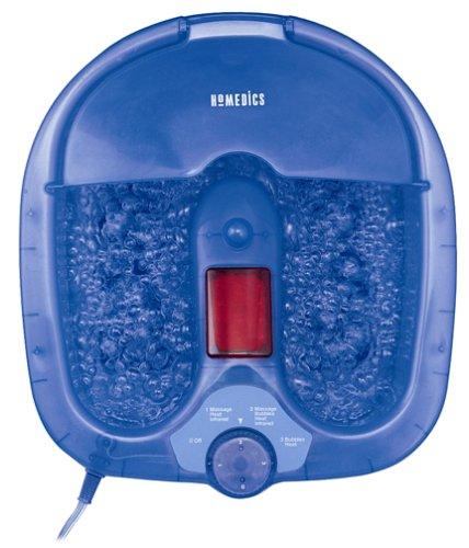 (HoMedics BS-100HDB Bubble Spa Ultra Foot Bath )