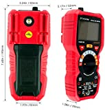 Faradigi Digital Multimeter AutoRanging True RMS 6000 Counts Electrical and Continuity Tester Voltage Detection with a Lighter Diode and Resistance Test NCV Live Line Test with Lcd Backlight