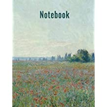 Notebook: Unlined, Unruled Journal Book with Blank Pages & Sketch Book (8.5 x 11)