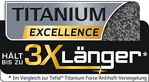Tefal E4401185 Talent Pro Crêpière 28 cm, Aluminium, Noir