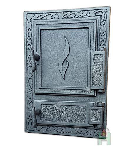 Horno para puerta (Hierro Fundido Horno Puerta de hierro fundido ...