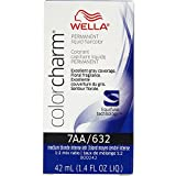 Wella Color Charm Permanent Liquid Hair Color 7AA/632-Medium Blonde Intense Ash