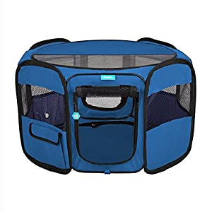 7. Pawdle Deluxe Playpen Kennel
