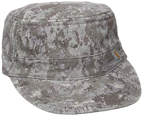 Carhartt Women's Hendrie Military Cap Moisture Wicking Sweatband Closure,Hybrid Camo Purple,One Size (Collection 566)