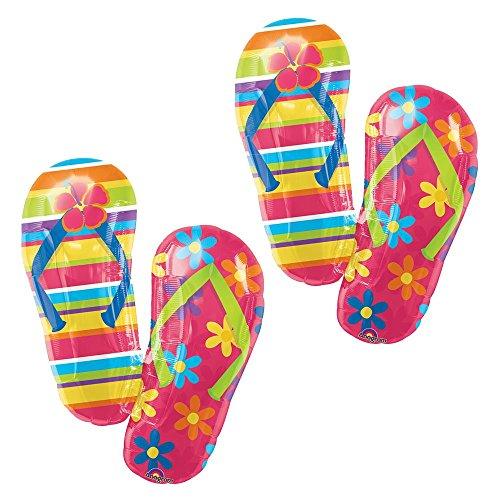 Balloon Flip Flops (Set of 2 Flip Flops Sandals Jumbo 33