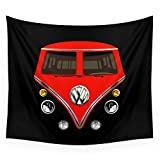 camper iphone 5c case - Society6 Sale For Charity! Red VW Volkswagen Mini Van Bus Kombi Camper Iphone 4 4s 5 5c & Galaxy S4 Case Wall Tapestry Medium: 68