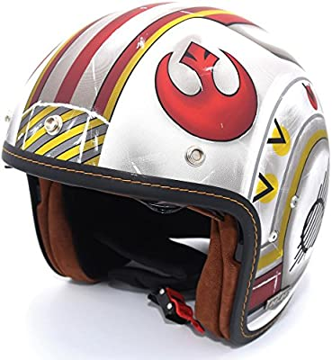 HJC IS-5 Star Wars X-Wing Fighter Pilot Limited Edition Motorcycle Helmet LG
