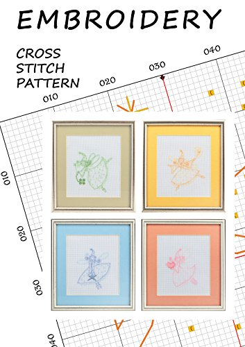Tooth fairy silhouettes Love cross stitch pattern book embroidery fairy wall decorations Disney fairies wall decor counted cross stitch Ballet fairy Magic tooth fairy Miniature fairy cross stitch