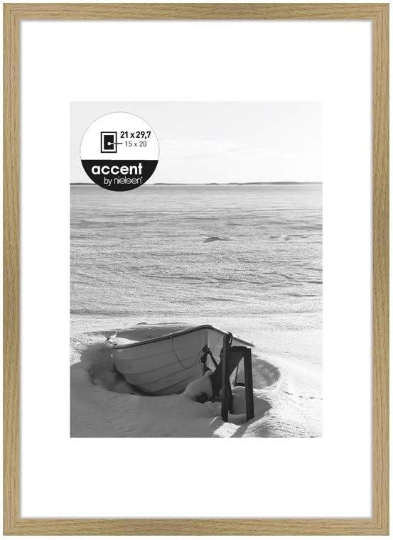 Nielsen Design Cornice Portafoto in Legno Colore Quercia 21 x 29,7 cm