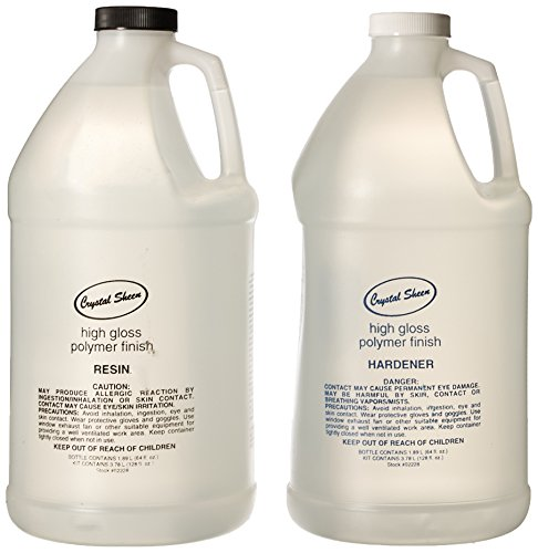 Eti 16011 2228 High Gloss Crystal Sheen Polymer Coating 2 Part Kit, 1 gallon (Coating Polymer)