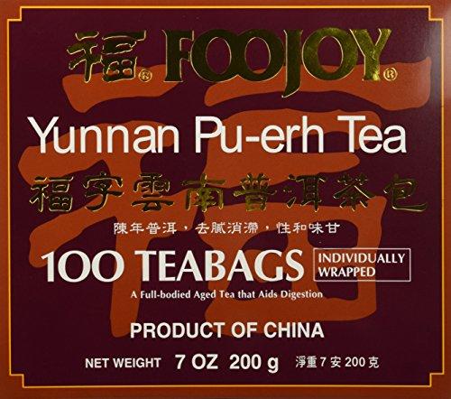 Foojoy Yunnan Bo Nay Tea - 100 Tea Bags (7.0 Oz) ()