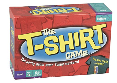 Buffalo Games The T-Shirt Game (Game Torture Board)
