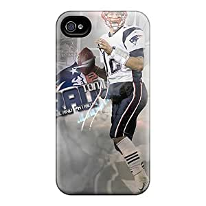 HDFHNVa7241Jrdka Tpu Case Skin Protector For Iphone 4/4s Brady Nfl Player With Nice Appearance
