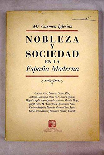 Nobleza y sociedad en la España moderna Marcial Pons: Amazon.es: Libros