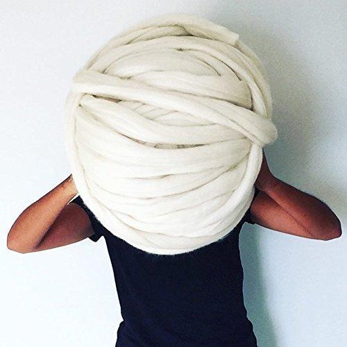 deedff3663c CHUNKY Giant merino wool in 75mm