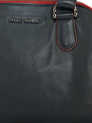 Phive Rivers , Sac à main pour femme Noir noir Taille unique