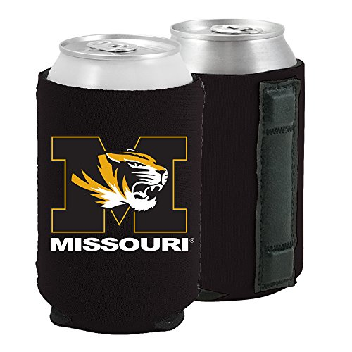 Magnetic Kolder Kaddy NCAA Can Cooler Coolie, One Piece (Missouri Tigers)