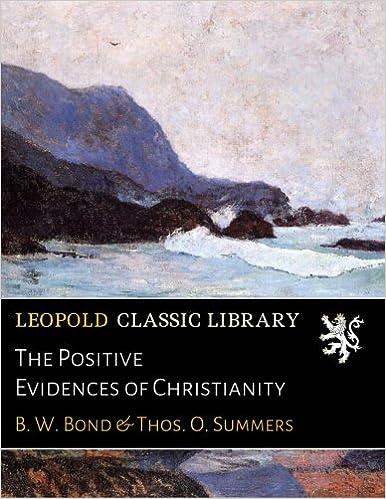 Descargar Utorrent Castellano The Positive Evidences Of Christianity Como Bajar PDF Gratis