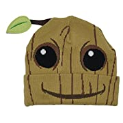 Bioworld Guardians Of The Galaxy Baby Groot Costume Beanie Cap Hat