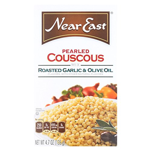 Near East Couscous - Garlic and Olive Oil - Case of 12 - 4.7 oz. by Near East