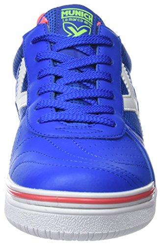 Zapatillas Adulto de Multicolor 817 Azul Munich 3110817 Deporte Unisex 5wvvXq