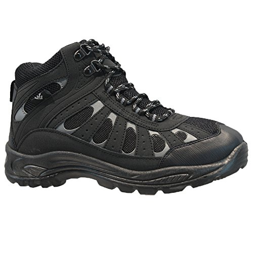 Trainer Wandern Winterarbeit Up Wyre Mens Stiefeletten Winterwandern Trail Schuhe Lace Schwarz Valley wqqgYTvH