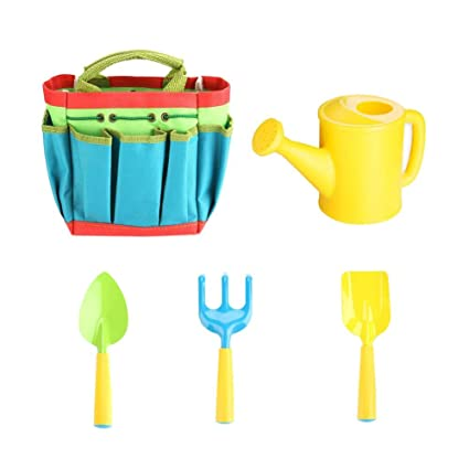 Amazon.com Funarrow 5Piece Kids Gardening Tools Set Plastic