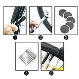 GUSODOR Bicycle Repair Bag Set Bike Repair Tools