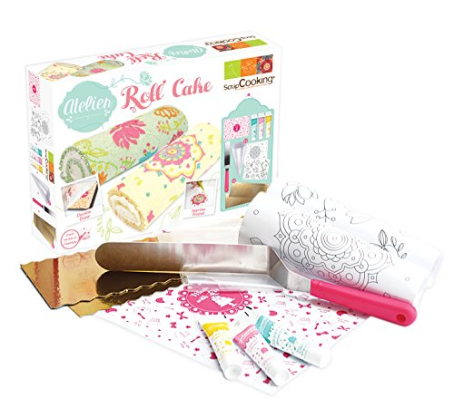 ScrapCooking 3700392439590 Yule Log Cake Workshop Kit