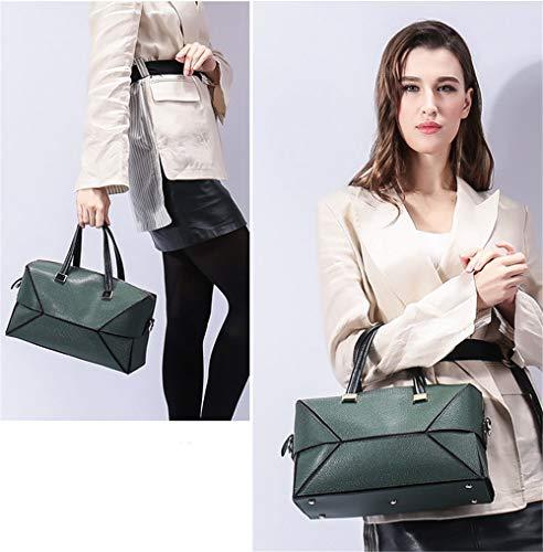 Simple Leather Crossbody Totes Xuanbao Package Storage Bags Hobo Ladies Diagonal Shoulder Cowhide Atmosphere Bag Handbag Womens Women's Commuter Female qqFZYxz