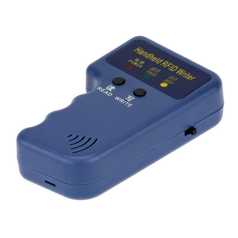 BSTUOKEY Handheld 125KHz RFID Duplicator Copier Writer Programmer Reader RFID ID Card Writer Copier Duplicator for HID Card RFID Writer