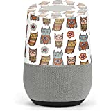 Patterns Google Home Skin - Lotsa Owls Vinyl Decal Skin For Your Home