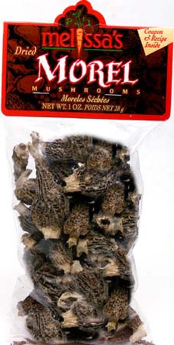 (Melissa's Dried Morel Mushrooms, 2 Packages (1 oz))