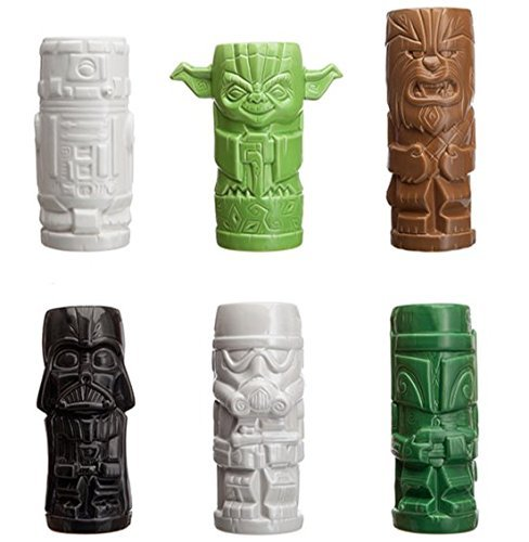 Star Wars Geeki Tiki Mugs (Plastic Tiki Mugs)