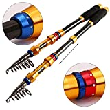 PEZO Portable Telescopic Fishing Rod (Choose Your Size) (7 Ft) Review