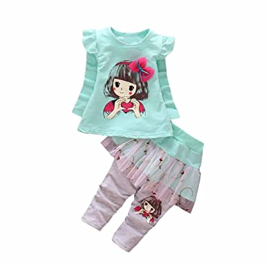 Outfits & Sets Baby Girls Top And Trousers Set Clothes, Shoes & Accessories