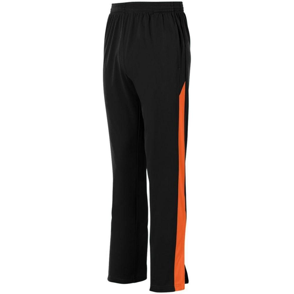Augusta Activewear PANTS メンズ B079ZMTSN5 XXX-Large ブラック/オレンジ ブラック/オレンジ XXX-Large