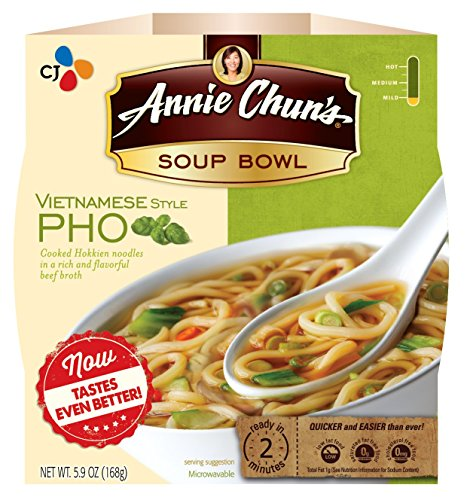 Annie Chun's Soup Bowl, Vietnamese Style Pho, 5.9 Ounce (Pack of 6) (Annies Naturals Roasted Garlic)