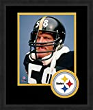 NFL Pittsburgh Steelers Logo Mat Picture Frames, Black, 13 x 16-Inch