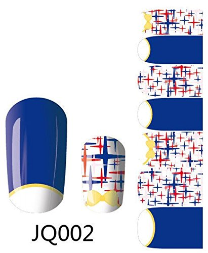 1 Pack Pretty Wraps Design Manicure Self Adhesive Popular Nail Art Stickers Style Code JQ002